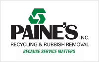Paines Inc Recycling and Rubbish Removal