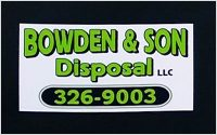 Bowden and Son Disposal