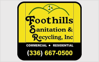 Foothills Sanitation and Recycling