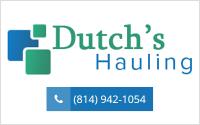 Dutchs Hauling