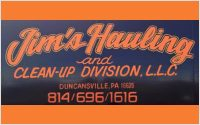 Jims Hauling and Clean Up Division LLC