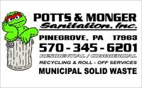 Potts and Monger Sanitation Inc