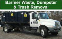 Barnier Waste Dumpster and Trash Removal